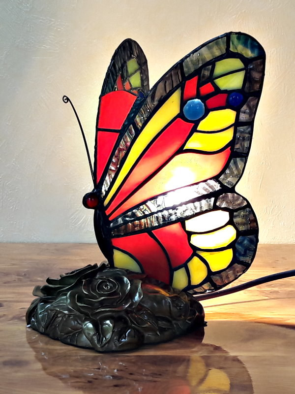 Schmetterling im Tiffany Stil A46