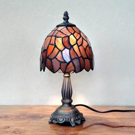 Tischleuchte im Tiffany Stil A60