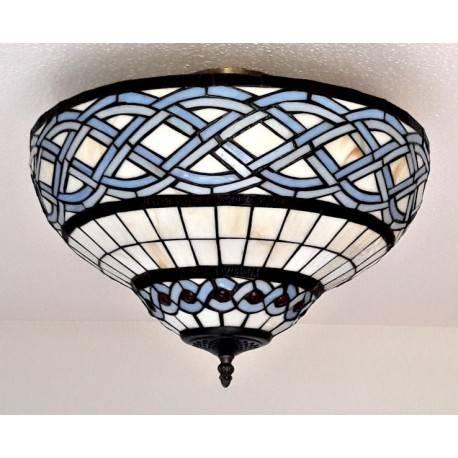 Deckenleuchte im Tiffany Stil D145