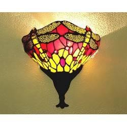 Wandlampe im Tiffany Stil J16