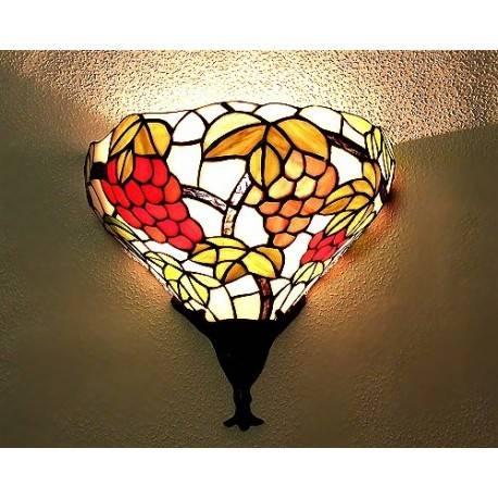 Wandlampe im Tiffany Stil J18