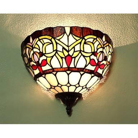Wandlampe im Tiffany Stil J20