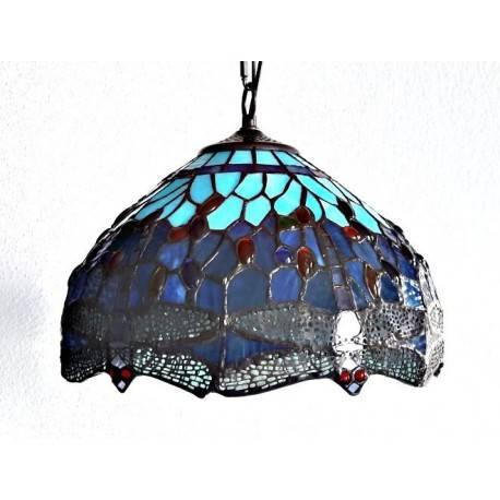 Deckenleuchte im Tiffany Stil  Ø 30 cm F214*