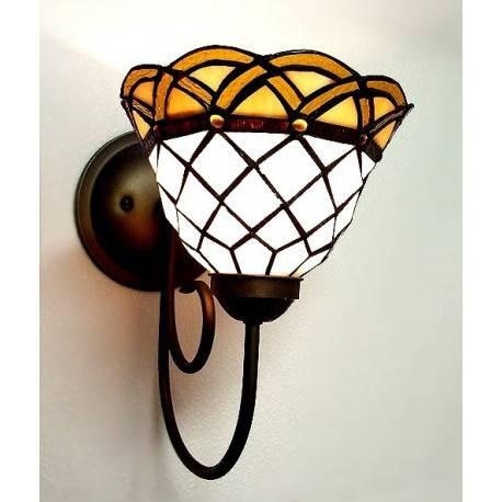 Wandlampe im Tiffany Stil J24