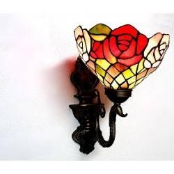Wandlampe im Tiffany Stil J25