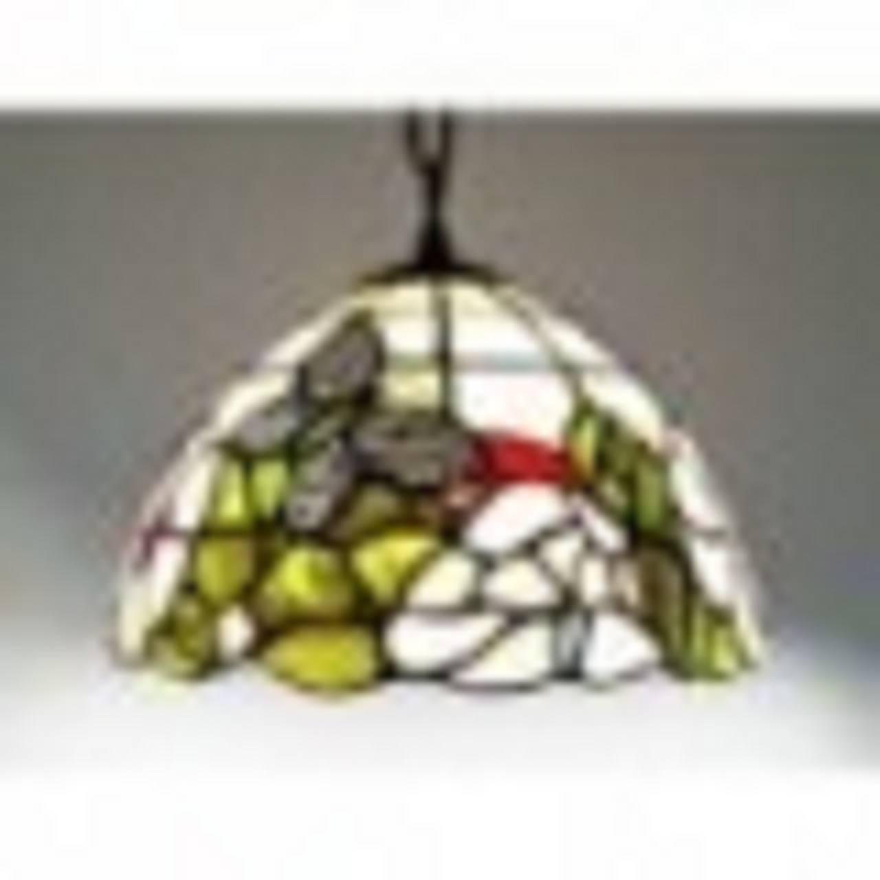 Deckenleuchte Ø 25 cm im Tiffany Stil F234