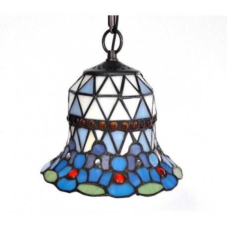 Deckenleuchte Ø 20 cm im Tiffany Stil F253