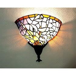 Wandlampe im Tiffany Stil J19