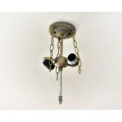 Deckenbefestigung füt Tiffany-Deckenlampe Komplett Y302