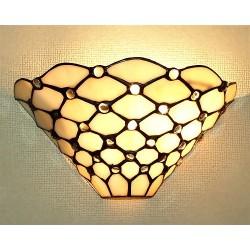 Wandlampe im Tiffany Stil W41