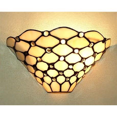 Wandlampe im Tiffany Stil W52