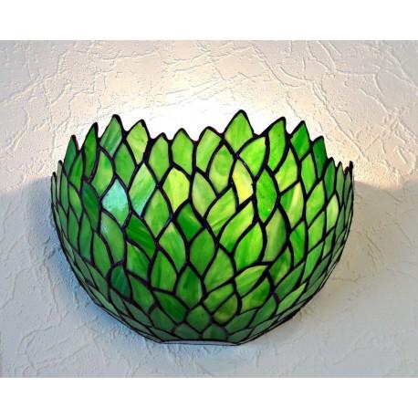 Wandlampe im Tiffany Stil W34