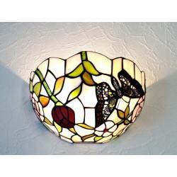 Wandlampe im Tiffany Stil W10