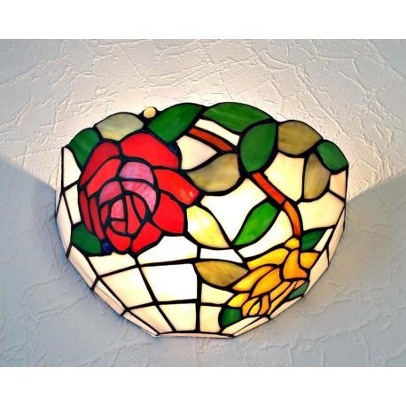 Wandlampe im Tiffany Stil W11