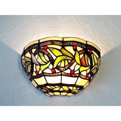 Wandlampe im Tiffany Stil W28