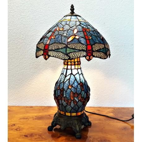 Tischleuchte Dragonfly im Tiffany Stil K159