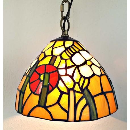 Deckenleuchte Ø 20 cm im Tiffany Stil F270