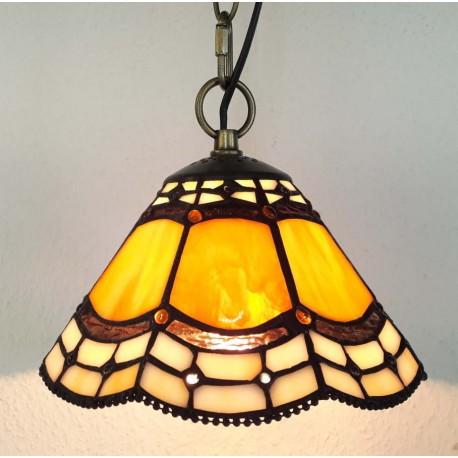 Deckenleuchte Ø 20 cm im Tiffany Stil F289