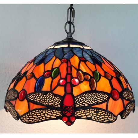 Deckenleuchte im Tiffany Stil  Ø 30 cm F295