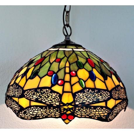 Deckenleuchte im Tiffany Stil  Ø 30 cm F296