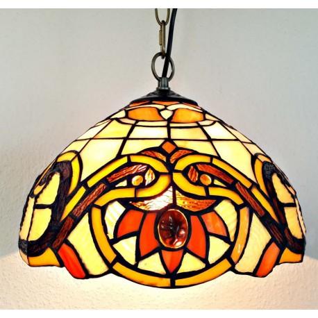 Deckenleuchte im Tiffany Stil  Ø 30 cm F301
