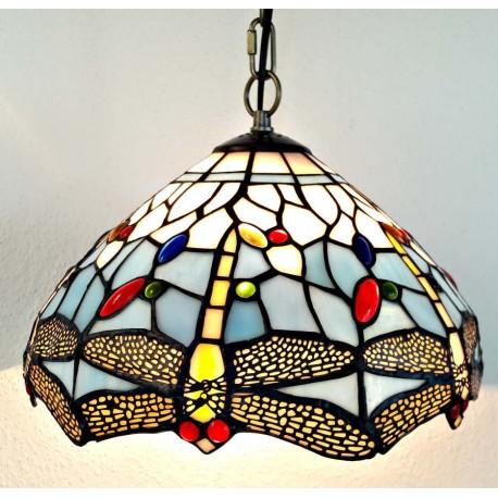 Deckenleuchte im Tiffany Stil  Ø 30 cm F304