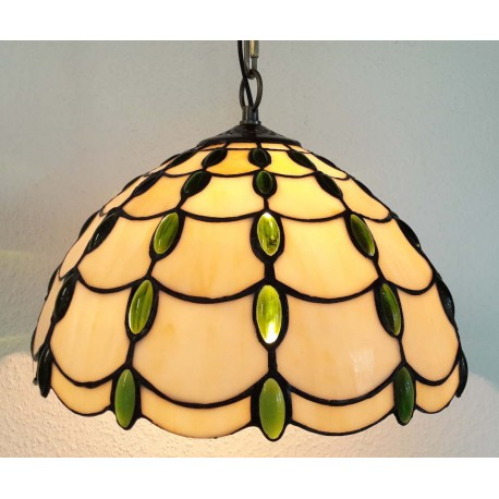 Deckenleuchte im Tiffany Stil  Ø 30 cm F305