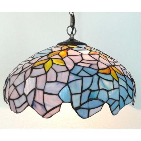 Deckenleuchte im Tiffany Stil  Ø 40 cm F308