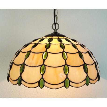 Deckenleuchte im Tiffany Stil  Ø 40 cm F310