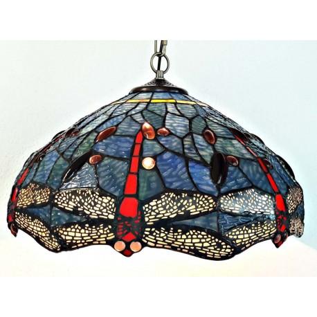 Deckenleuchte im Tiffany Stil  Ø 40 cm F312