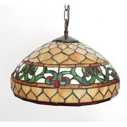 Deckenleuchte im Tiffany Stil  40 cm F318