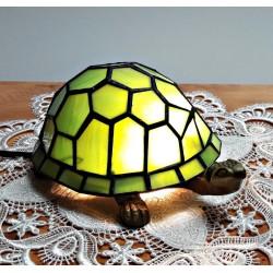 Tischleuchte Schildkröte beige im Tiffany Stil K162