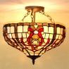 Deckenleuchte im Tiffany Stil D192