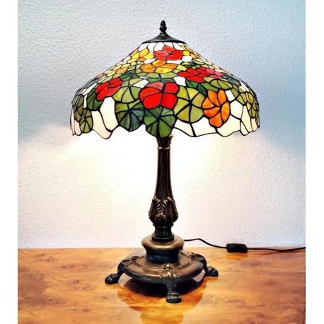 Tischleuchte im Tiffany Stil K181