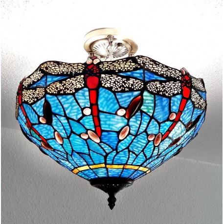 Deckenleuchte im Tiffany Stil D193