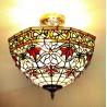 Deckenleuchte im Tiffany Stil D194