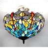 Deckenleuchte im Tiffany Stil D195