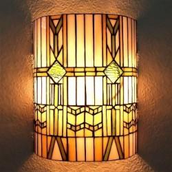 Wandlampe im Tiffany Stil J06