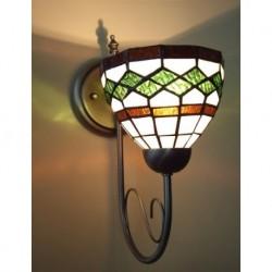 Wandlampe im Tiffany Stil J07z
