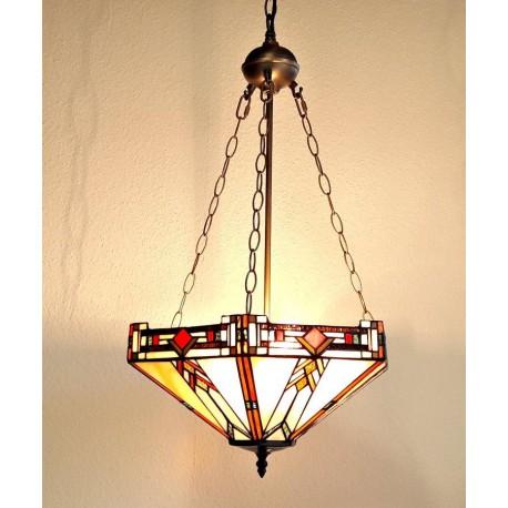 Tiffany Deckenleuchte im Tiffany Stil Deckenlampe B40