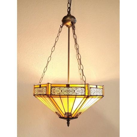 Tiffany Deckenleuchte im Tiffany Stil Deckenlampe B45