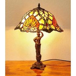 Tiffany Tischleuchte im Tiffany Stil Tischlampe A202