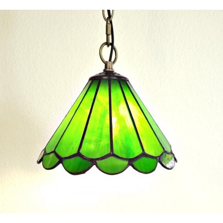 Tiffany Deckenleuchte im Tiffany Stil Deckenlampe grün F359