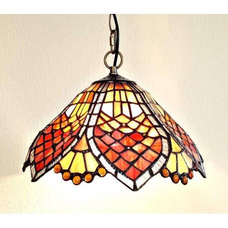 Tiffany Deckenleuchte im Tiffany Stil Deckenlampe F371