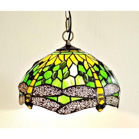 Tiffany Deckenleuchte im Tiffany Stil Deckenlampe grün F373