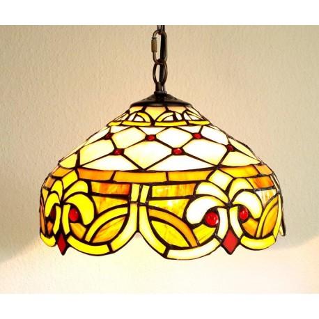 Tiffany Deckenleuchte im Tiffany Stil Deckenlampe F376