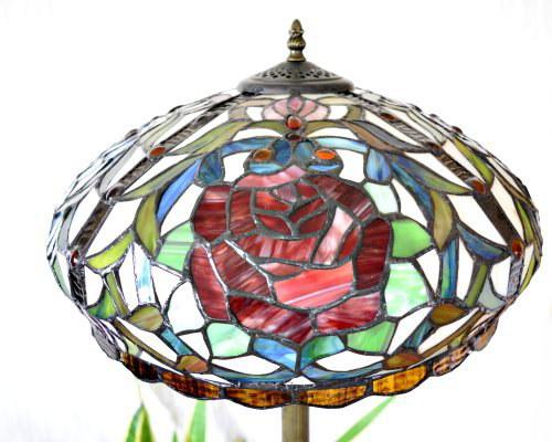 stehlampe im tiffany stil stl29 tiffany leuchten. Black Bedroom Furniture Sets. Home Design Ideas